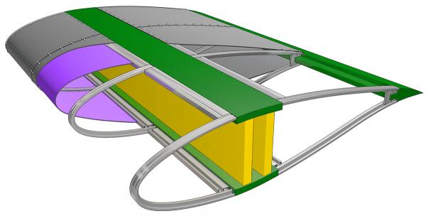 wind turbines, wind turbine blades, architectural fabric