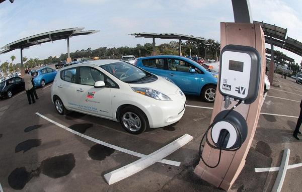 San Diego Zoo solar to EV charging