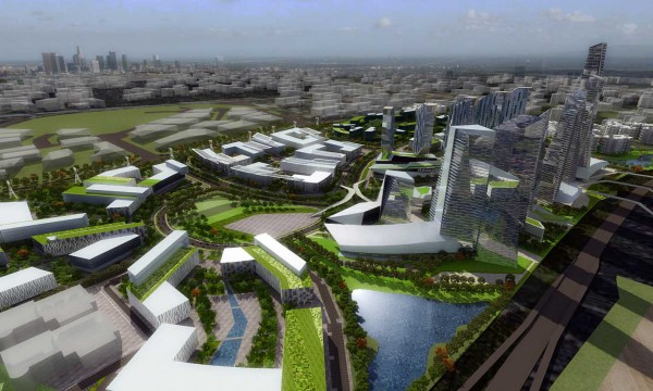 Proposed drawings for future Iskandar development. Image via Iskandar Malaysia.