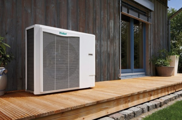 The Department of Energy is investing in energy-saving technologies, such as air-source heat pumps. Image via Vaillant.