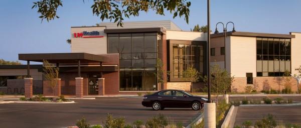 The University of Wisconsin's Yahara Clinic in Monona, Wis. Image by Dana Wheelock via Kahler Slater.