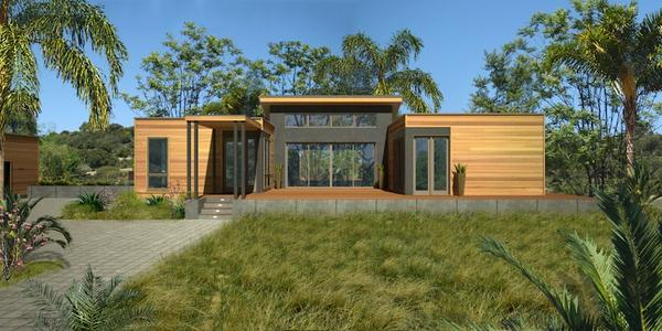 Blu Homes' prefab designs will establish a beachhead in Hawaii this year. Image via Blu Homes.