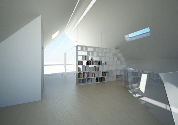 The modular interior. Image by Christopher Daniel via Violent Volumes.