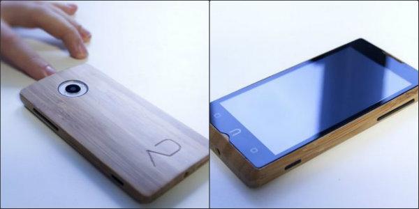 ADzero, bamboo, smartphone