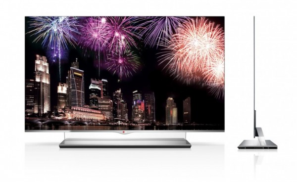 LG, flat screen tv, television, OLED