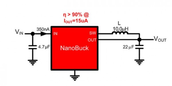 Texas Instruments, TI, Nanobuck, power converter, ambient energy