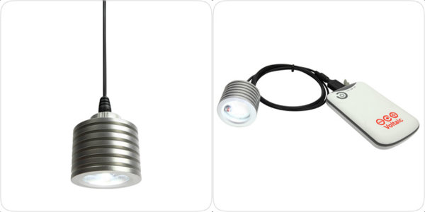Voltaic Systems, USB, LED, pendant light, waterproof