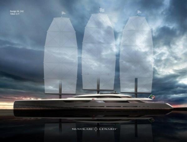 yacht, solar, sailing, travel, OceanCo, Nuvolari Lenard Design