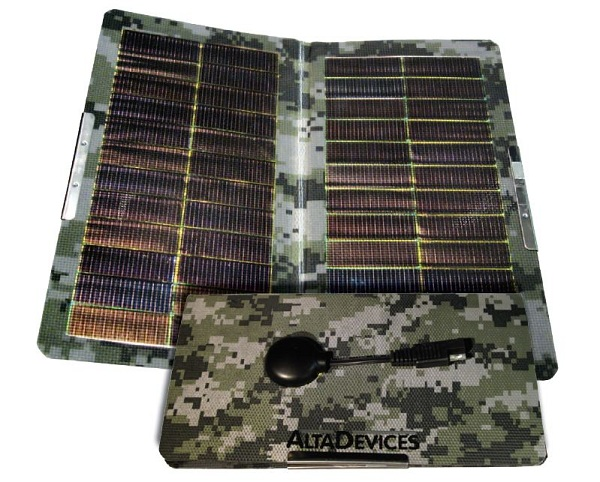 Alta Devices military charging mat