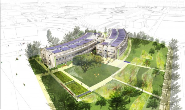 NASA, Ames Sustainability Base, BIM, building performance monitoring, energy management,