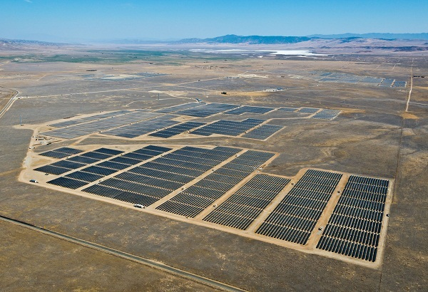 California Valley Solar Ranch (image via NRG Energy)