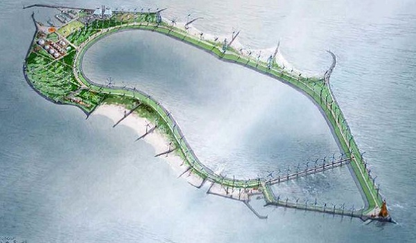 belgium energy island
