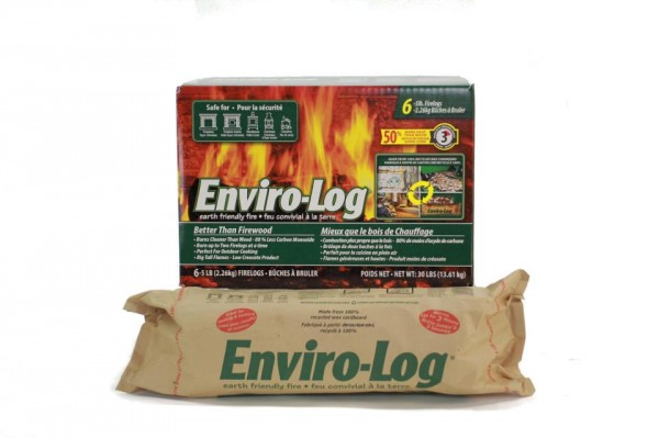 enviro-log, fire starters, wood fires, heating, emissions