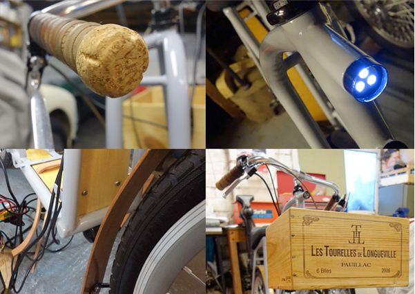 Philip Crewe, electric bike, moped