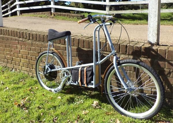 Philip Crewe, moped, electric bike, transportation