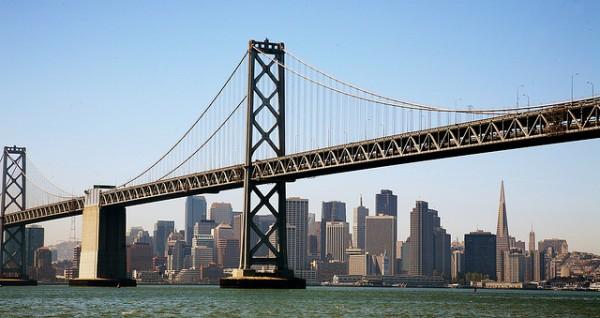 San Francisco, Bay Bridge, LEDs, light display, art, engineering