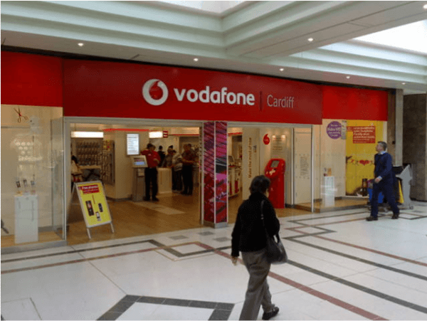 Vodaphone, mobile devices, smartphones, reused, prepay, recycling