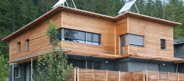 Whistler, B.C.'s Rainbow House duplex is now an officially certified Passive House. Image by Marken Projects.