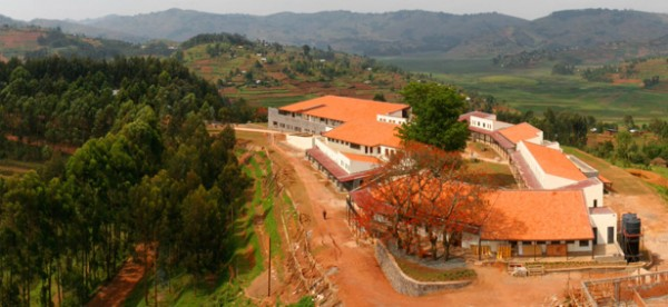 The Butaro Hospital campus in Rwanda. Image via Partners In Health.