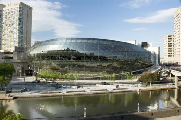 Ottawa's new convention center earned LEED Gold just as the city voted to reject the standard as a requirement. Image via Ottawa Convention Centre.
