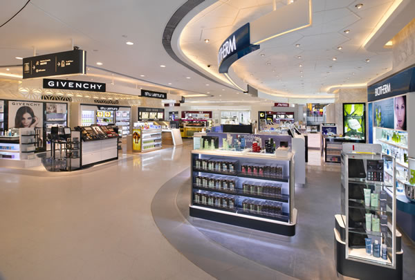 Hong Kong's T Galleria Mall earned a LEED Gold certification for Commercial Interiors. Image via DFS Group.