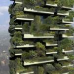 Artist's rendering of the completed Bosco Verticale. Image via Stafano Boeri Architetti.