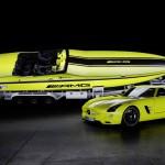 Mercedes-Benz EV sports car Cigarette 1 Electric boat concept