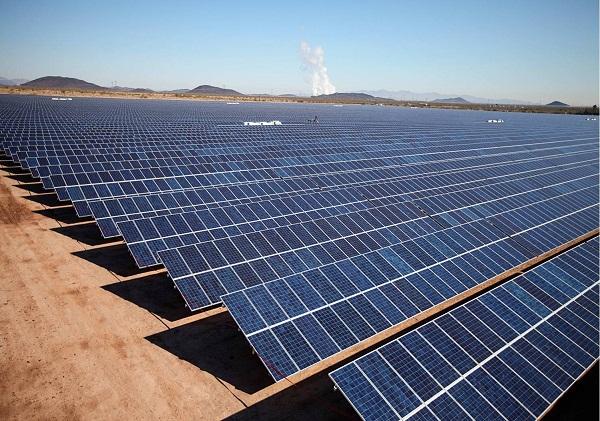 solar power plant mesquite