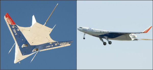 NASA, hybrid wing, airplane, design, energy efficient aircraft