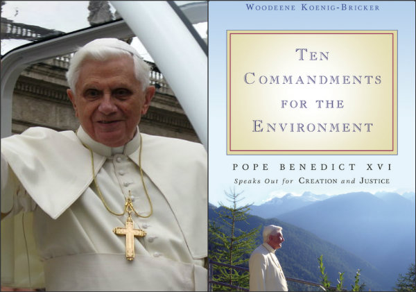 Pope Benedict, green pope,