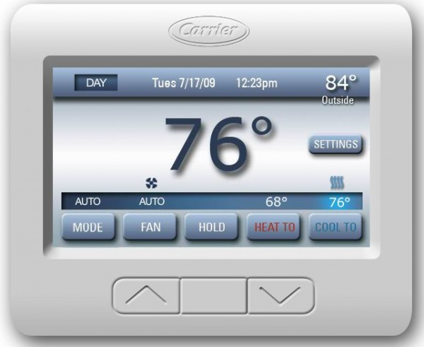 carrier comfort choice, ThinkEco, smart thermostat
