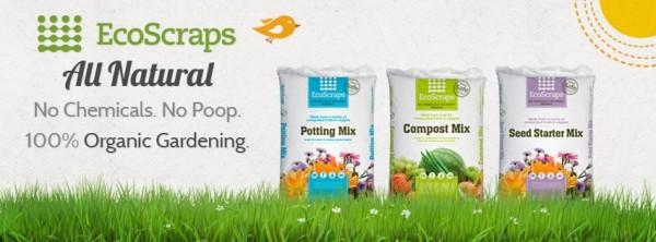EcoScraps, compost, gardening