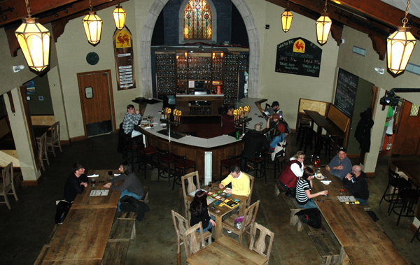 Brewery Vivant taproom (image via Great Lakes Echo)