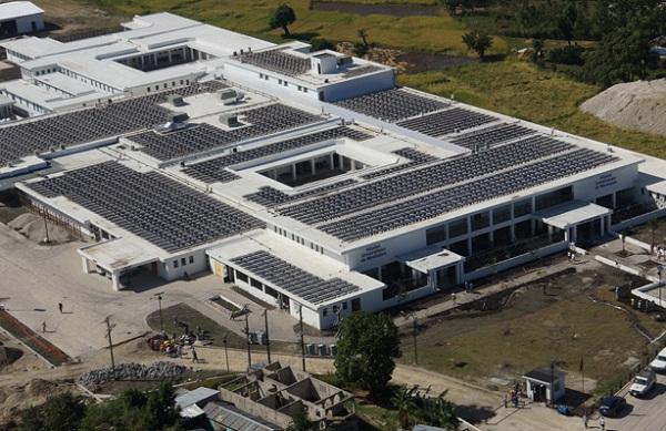 Haiti solar hospital