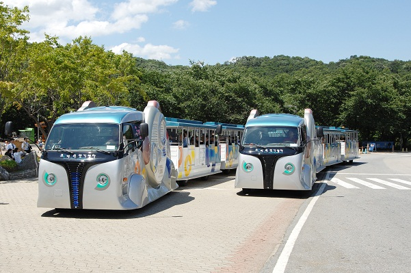 kaist olev trains / trams