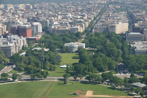 Washington, D.C., may be the home of gridlock, but it's greener than you think. Image by YoTuT via Flickr.