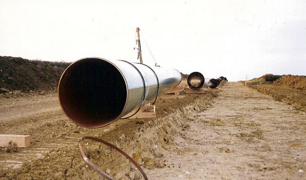 hydrogen natural gas pipeline
