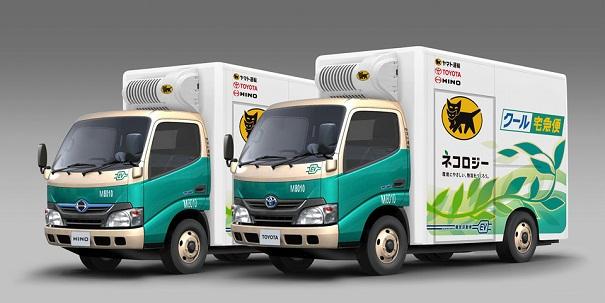 Hino Toyota Yamato trial EV trucks