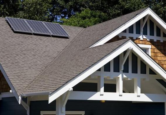 Bungalow details and solar panel