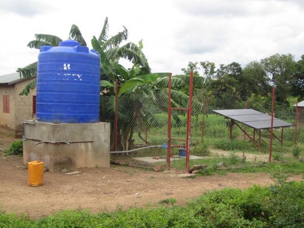 Benin solar power