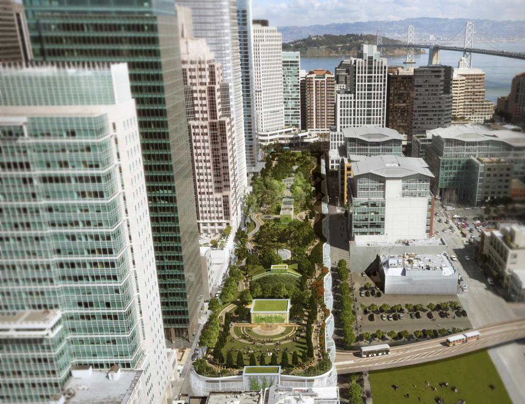 Transbay Transit Aerial View