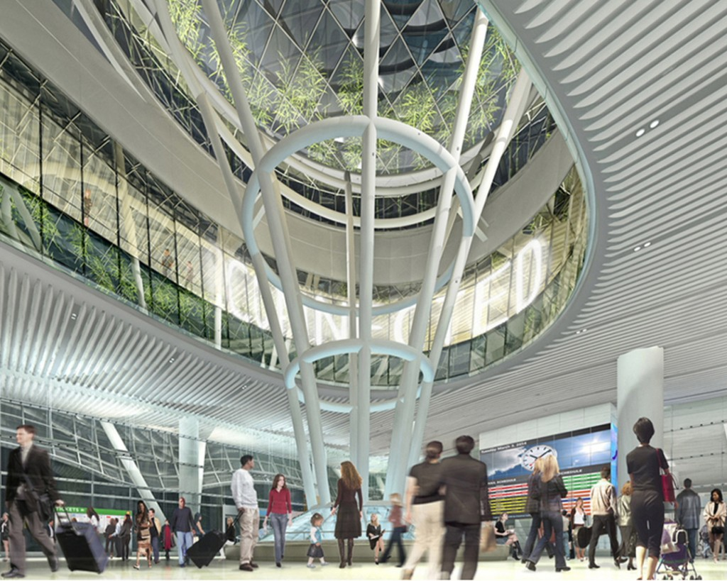 Transbay Transit Grand Hall
