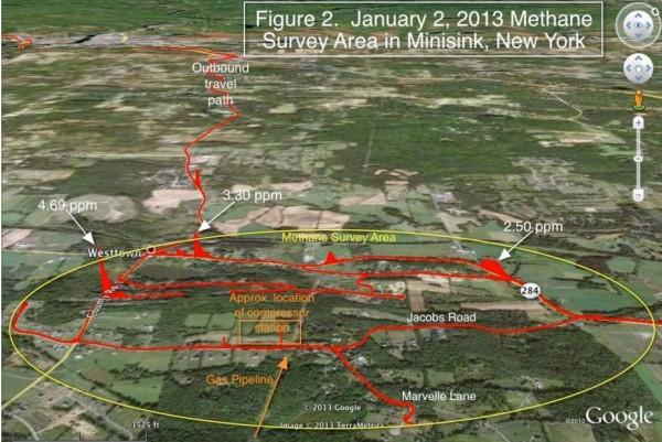 fracking methane baseline study