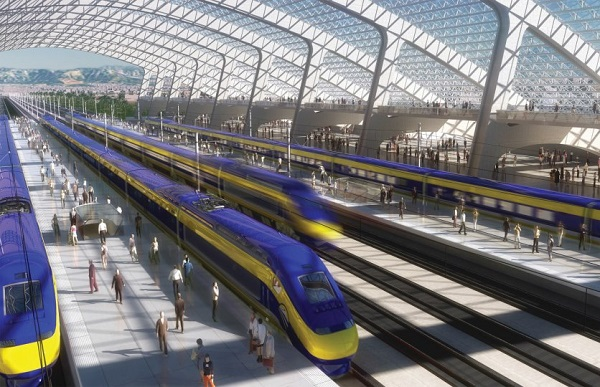 image via California High Speed Rail Authority