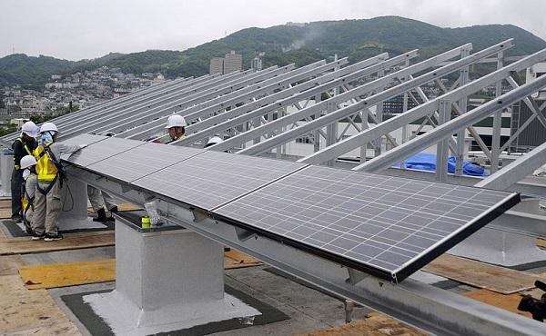 japan solar boom