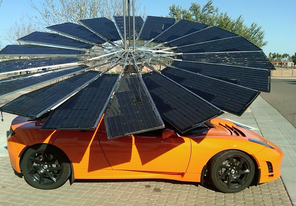 lotus mobile solar power