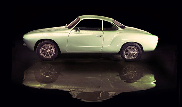 MiniDrive electric Karmann Ghia (image via MiniDrive)