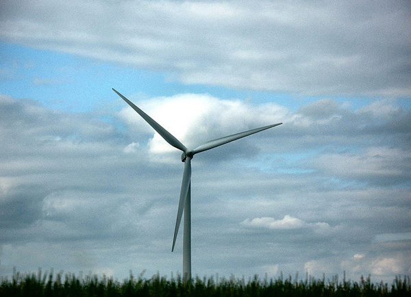 Ohio wind turbine