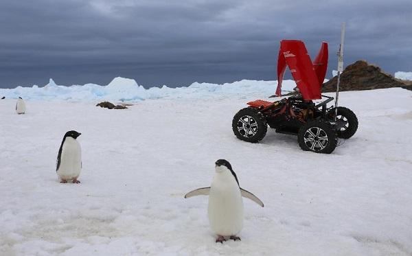 urban green energy polar rover