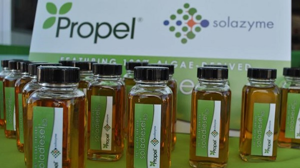 propel solazyme algae biofuel